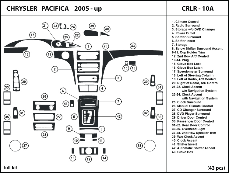 2004 pacifica fuse diagram  2004  free engine image for