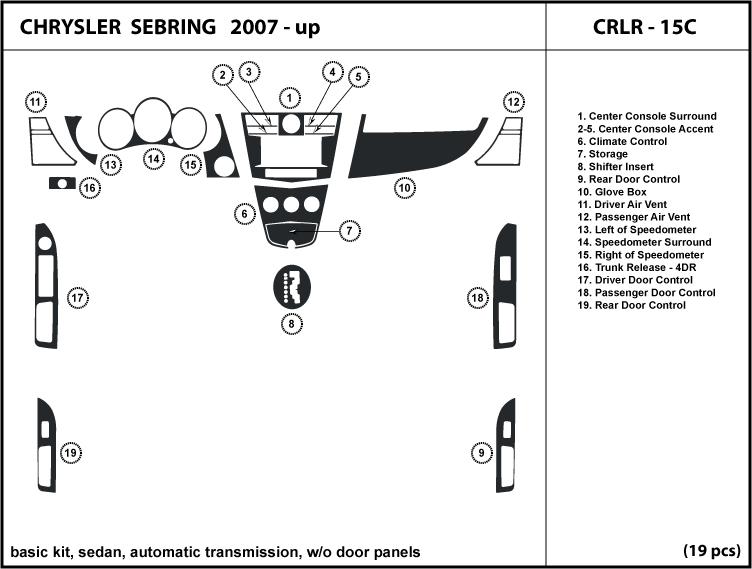 chrysler sebring 2007 2008 2009 2010 auto transmission. Black Bedroom Furniture Sets. Home Design Ideas