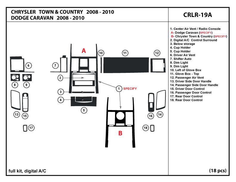 chrysler town  u0026 country 08 c