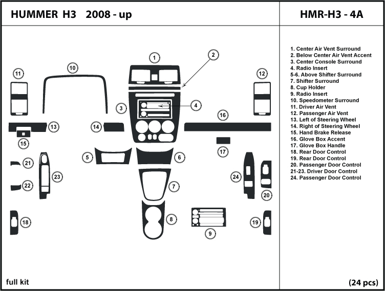 Service manual How To Remove Dash On A 2010 Hummer H3