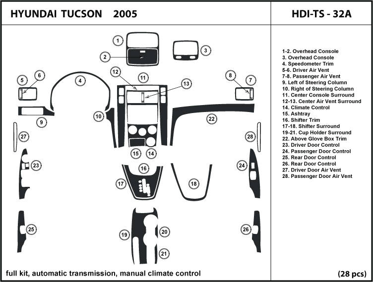 exploded view 2005 hyundai tucson manual transmission. Black Bedroom Furniture Sets. Home Design Ideas