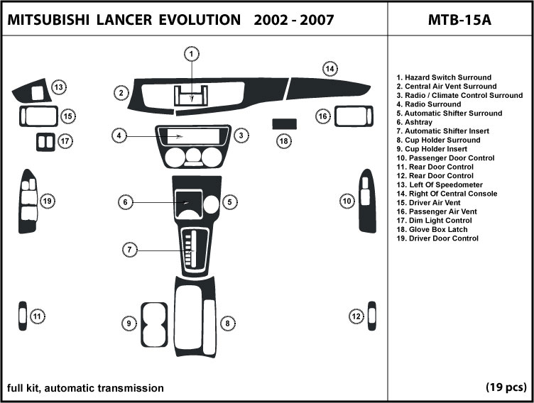 Mitsubishi Lancer Evolution Automatic Transmission 02