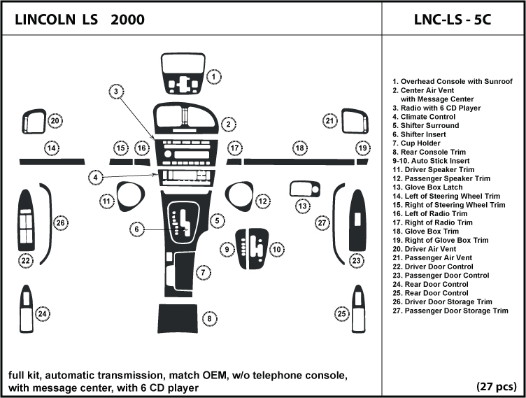 2006 Lincoln Ls Manual Transmission Schematic